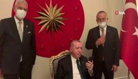 Cumhurbaşkanı Erdoğan, BM 75. Genel Kurul Başkanlığı seçim sonuçlarının açıklanmasını izledi