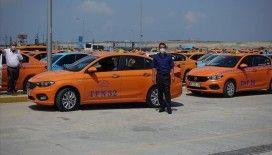İstanbul Havalimanı taksicilerinden İBB'nin 5 bin yeni taksi projesine tepki