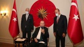 Cumhurbaşkanı Erdoğan, Türkiye'nin BM Daimi Temsilcisi Sinirlioğlu ile görüştü