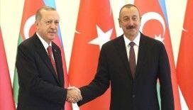 Aliyev, BM Genel Kurul Başkanlığına Türkiye'nin adayının seçilmesi dolayısıyla Erdoğan'ı kutladı