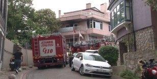 Beylerbeyi'nde sağlık merkezine yanıcı maddeli saldırı