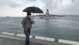 Anadolu Yakası'nda beklenen yağmur başladı