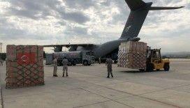 Türkiye, ikinci defa Afrika ülkesi Çad'a yardım malzemeleri yolluyor