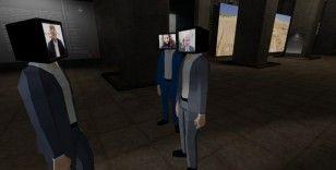 Bakan Soylu ve Ersoy, avatarlarıyla sanal sergi gezdi