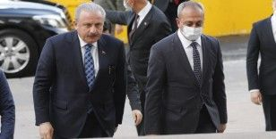 Meclis Başkanı Şentop, MHP Genel Merkezinde