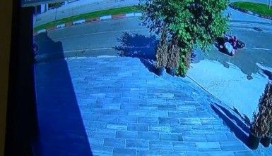 Kaza anı saniye saniye kameraya böyle yansıdı