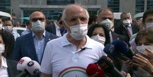İstanbul Barosu Başkanı Mehmet Durakoğlu'nun 'Savunma Yürüyüşü' başladı