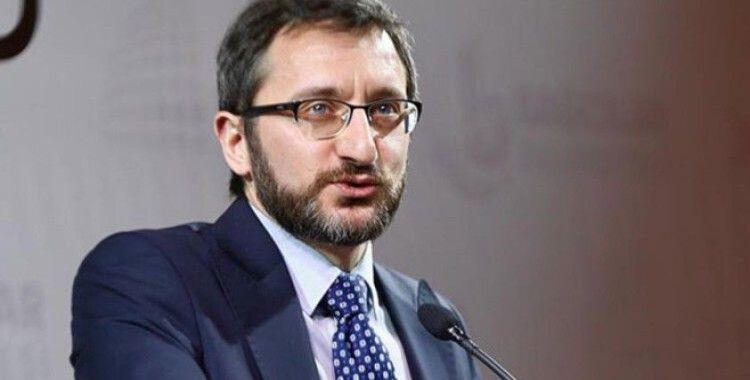İletişim Başkanı Altun, SETA'nın '2019 İslamofobi Raporu'nun tanıtıldığı web panelinde konuştu
