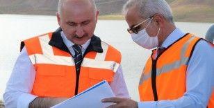 Ulaştırma ve Altyapı Bakanı Karaismailoğlu Hasankeyf'teki çalışmaları inceledi