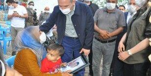 İçişleri Bakanı Soylu'dan şehit işçilerin ailelerine taziye ziyareti