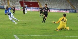 BB Erzurumspor, Eskişehirspor'u 1- 0 mağlup etti