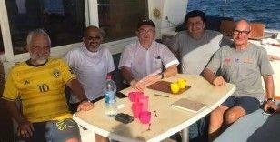 Eritre'de alıkonulan 3 Türk denizci serbest bırakıldı