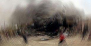 Azez'de patlama: 1 yaralı