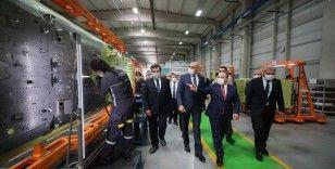 Bakan Varank, normalleşme sürecinde ilk fabrika ziyaretlerini Eskişehir'e yaptı