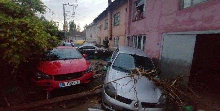 Bursa'da sel felaketi: 1 ölü