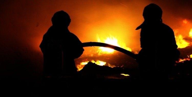 İstanbul Eğitim ve Araştırma Hastanesinde yangın paniği
