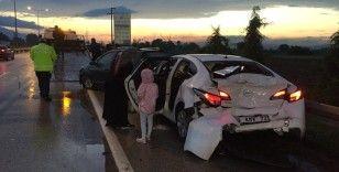 Bursa Ankara yolunda kaza: 4 yaralı
