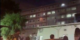 Hastane yangınını tedavi gören madde bağımlısının çıkardığı iddiası