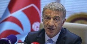 Trabzonspor Başkanı Ağaoğlu: Camiamdan ve ülkemiz insanlarından özür diliyorum