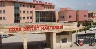 Cizre'de devlet hastanesi koronavirüs hastalarıyla doldu!