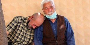 Denizde boğulan baba ile oğlun cenazesi gözyaşları içerisinde alındı