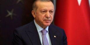 Cumhurbaşkanı Erdoğan, Moon Jae-in ile görüştü