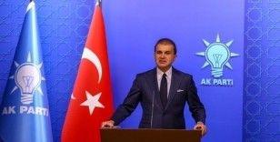 AK Parti Sözcüsü Çelik: 'Macron'un siyaseti, darbecilere verilen bir destektir'