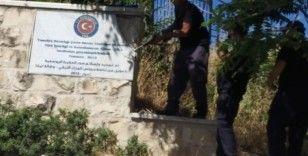 İsrail Kudüs'te TİKA'nın tabelalarını söktü