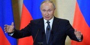 Putin: Kendi kendine yeten, güçlü ve açık Rusya ile gurur duyuyoruz