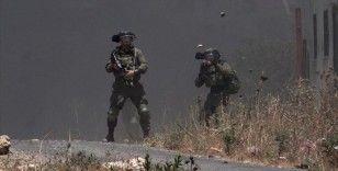 İsrail askerleri, Batı Şeria'da 1 Filistinliyi yaraladı