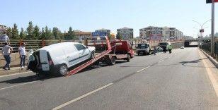 Diyarbakır'da zincirleme trafik kazası: 2'si çocuk 7 yaralı