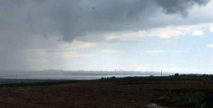 İstanbul'da uyarıların ardından kuvvetli yağmur başladı