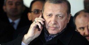 Cumhurbaşkanı Erdoğan, Ukrayna Cumhurbaşkanı ile telefonda görüştü