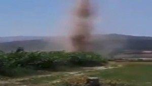 Kahramanmaraş'ta hortum korkuttu