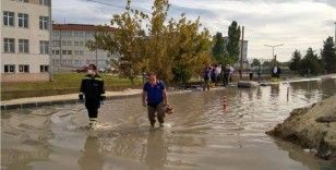 Tekirdağ'da selin vurduğu ilçelerde tahliye çalışması