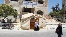 İdlib'e pandemi hastanesi kuruldu