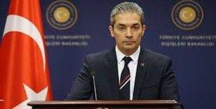 Dışişleri Bakanlığı Sözcüsü Aksoy'dan AB ve Yunanistan'a çağrı