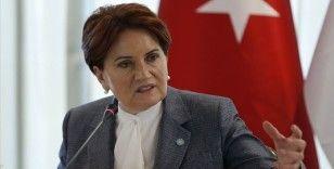 İYİ Parti Genel Başkanı Meral Akşener'den şeffaflık çağrısı