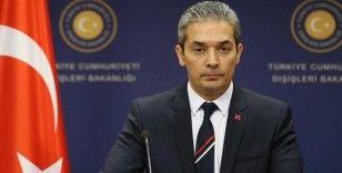 Dışişleri Bakanlığı Sözcüsü Aksoy'dan ABD'nin 'Terörizm 2019 Ülkeler Raporu'na tepki
