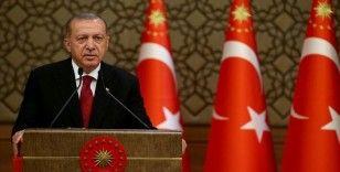 Erdoğan, YKS'ye girecek öğrencilere sosyal medya hesabından başarı diledi