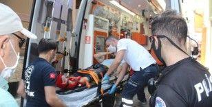 Yaşlı kadını 800 bin TL dolandıran şahıs kaçarken ayağını kırdı