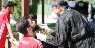 Sivasspor'a 7. kez korona virüs testi yapıldı