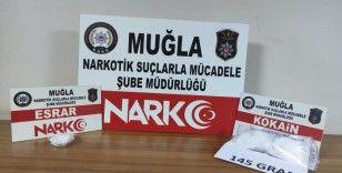 Marmaris'te uyuşturucu operasyonuna 5 gözaltı