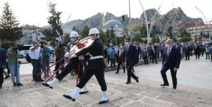 Bakan Karaismailoğlu, Atatürk'ün Tokat'a gelişinin 101. yılı törenine katıldı
