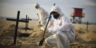 Kovid-19'dan Brezilya'da 1141, Meksika'da 736, Hindistan'da 407 kişi öldü