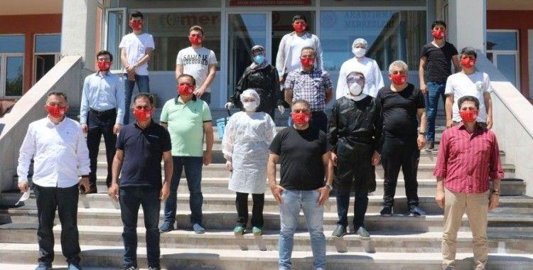 Sivas'ta spor medyası koronavirüs testinden geçti