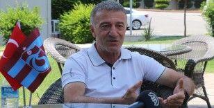 Trabzonspor Başkanı Ağaoğlu: Takımımızın ligi şampiyon olarak bitireceğinden en ufak kuşkumuz yok