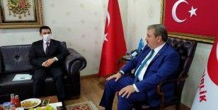 Türkmenistan Büyükelçisi, BBP Başkanı Destici'yi ziyaret etti