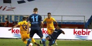 Süper Lig: Trabzonspor: 1 - MKE Ankaragücü: 0 (İlk yarı)