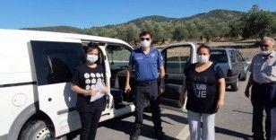 Sınava giderken kaza yapan öğrenciyi polis sınava yetiştirdi